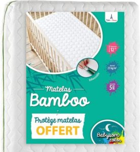 Babysom Matelas Bébé Bamboo