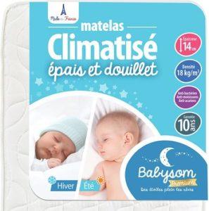 Babysom Matelas Bébé Climatisé