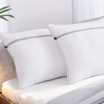 BedStory [Nouvelle Version] Oreillers Lot de 2 60x60
