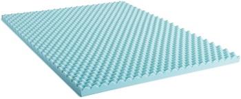 Surmatelas de 5 cm Lucid en mousse de gel alvéolée à mémoire de forme